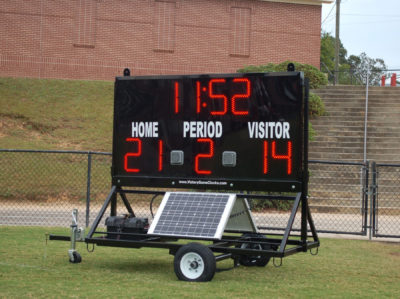 Portable Football Scoreboards