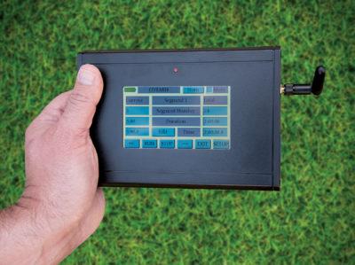 LCD Touchscreen Controller