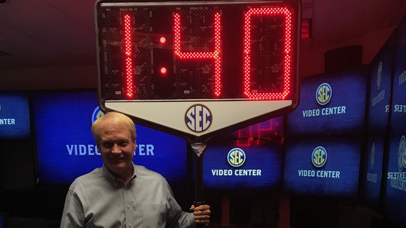 Victory Game Clocks and the SEC light up TV timeouts